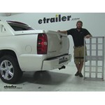 MaxxTow  Hitch Cargo Carrier Review - 2011 Chevrolet Avalanche