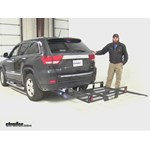 MaxxTow  Hitch Cargo Carrier Review - 2011 Jeep Grand Cherokee