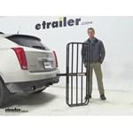 MaxxTow  Hitch Cargo Carrier Review - 2013 Cadillac SRX