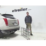 MaxxTow  Hitch Cargo Carrier Review - 2013 Cadillac SRX
