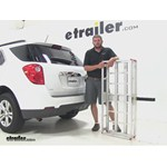 MaxxTow  Hitch Cargo Carrier Review - 2014 Chevrolet Equinox