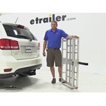 MaxxTow  Hitch Cargo Carrier Review - 2014 Dodge Journey
