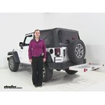 MaxxTow  Hitch Cargo Carrier Review - 2014 Jeep Wrangler