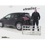 MaxxTow  Hitch Cargo Carrier Review - 2014 Nissan Murano