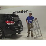 MaxxTow  Hitch Cargo Carrier Review - 2014 Nissan Pathfinder