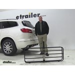 MaxxTow  Hitch Cargo Carrier Review - 2015 Buick Enclave