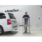 MaxxTow  Hitch Cargo Carrier Review - 2015 Chrysler Town and Country