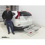 MaxxTow  Hitch Cargo Carrier Review - 2015 Honda CR-V