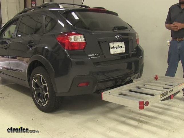 Matow Hitch Cargo Carrier Review 2017 Subaru Xv Crosstrek Video Etrailer