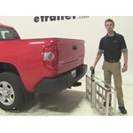 MaxxTow  Hitch Cargo Carrier Review - 2015 Toyota Tundra