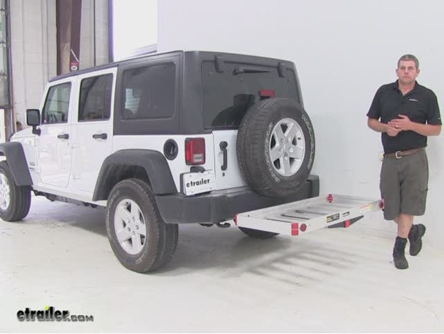 Maxxtow Hitch Cargo Carrier Review 2016 Jeep Wrangler Unlimited