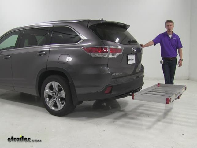 Matow Hitch Cargo Carrier Review 2016 Toyota Highlander Video Etrailer