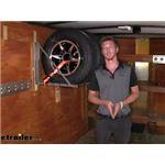 MaxxTow MaxxHaul Folding Tire Storage Rack Review
