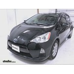 Michelin RainForce Wiper Blade Installation - 2013 Toyota Prius c