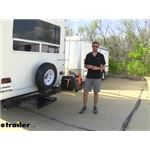 Video review mount n lock gennygo bumper mounted generator and cargo carrier kit mnt54fr