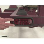 Optronics Red Lens Trailer Tail Light Review
