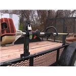 Pack Em Open Utility Trailer Trimmer Rack Review