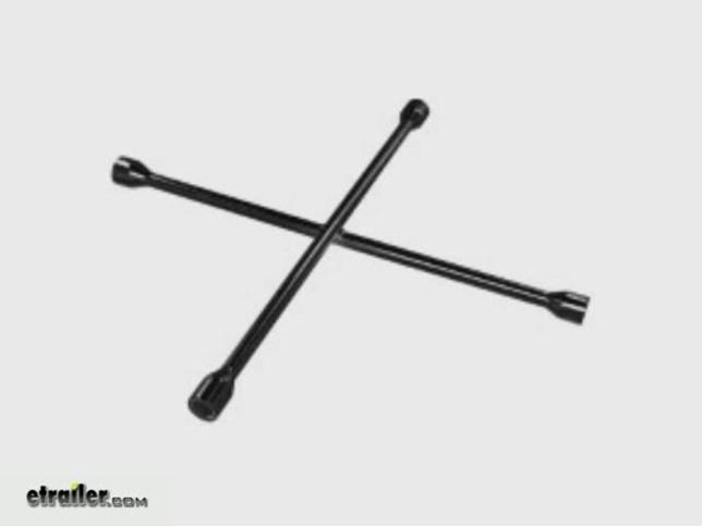 "20"" SAE/Metric 4-Way Lug Wrench Performance Tool Tools PTW1"