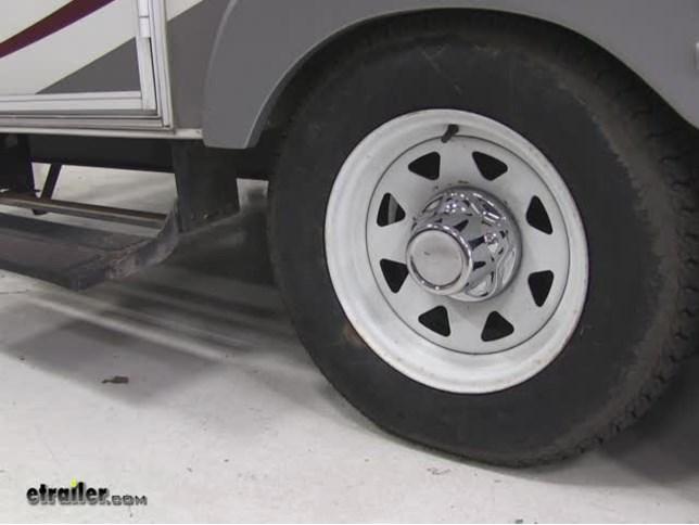 Phoenix Usa Quicktrim Hub Cover For Trailer Wheels 5 On