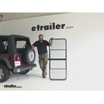 Pro Series 24x60 Hitch Cargo Carrier Review - 2004 Jeep Wrangler