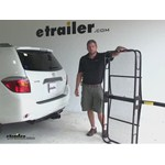 Pro Series 24x60 Hitch Cargo Carrier Review - 2008 Toyota Highlander