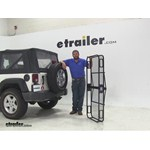 Pro Series 24x60 Hitch Cargo Carrier Review - 2009 Jeep Wrangler