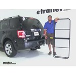 Pro Series 24x60 Hitch Cargo Carrier Review - 2010 Ford Escape