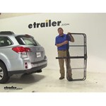 Pro Series 24x60 Hitch Cargo Carrier Review - 2013 Subaru Outback Wagon