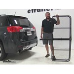 Pro Series 24x60 Hitch Cargo Carrier Review - 2014 GMC Terrain
