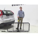Pro Series 24x60 Hitch Cargo Carrier Review - 2014 Honda CR-V