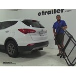 Pro Series 24x60 Hitch Cargo Carrier Review - 2014 Hyundai Santa Fe