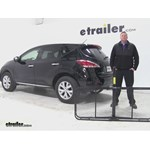 Pro Series 24x60 Hitch Cargo Carrier Review - 2014 Nissan Murano