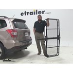 Pro Series 24x60 Hitch Cargo Carrier Review - 2014 Subaru Forester