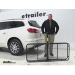 Video review pro series 24x60 hitch cargo carrier 2015 buick enclave 63153
