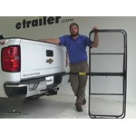 Pro Series 24x60 Hitch Cargo Carrier Review - 2015 Chevrolet Silverado 1500