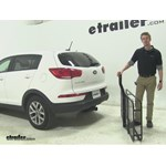 Pro Series 24x60 Hitch Cargo Carrier Review - 2015 Kia Sportage