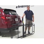Pro Series 24x60 Hitch Cargo Carrier Review - 2015 Subaru Outback Wagon