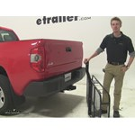Pro Series 24x60 Hitch Cargo Carrier Review - 2015 Toyota Tundra