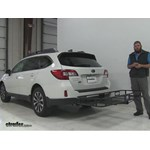 Pro Series 24x60 Hitch Cargo Carrier Review - 2016 Subaru Outback Wagon