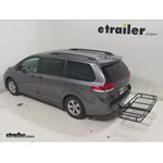 Pro Series Hitch Cargo Carrier Review - 2014 Toyota Sienna