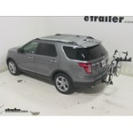 Pro Series Eclipse 4 Hitch Bike Rack Review - 2014 Ford Explorer