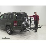 Pro Series  Hitch Bike Racks Review - 2008 Jeep Liberty