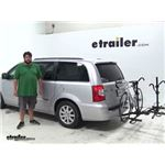 Pro Series  Hitch Bike Racks Review - 2012 Chrysler Town and Country