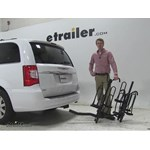 Pro Series  Hitch Bike Racks Review - 2015 Chrysler Town and Country