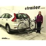 Pro Series  Hitch Bike Racks Review - 2015 Honda CR-V