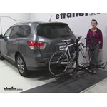 Pro Series  Hitch Bike Racks Review - 2015 Nissan Pathfinder