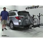 Pro Series  Hitch Bike Racks Review - 2015 Subaru Outback Wagon