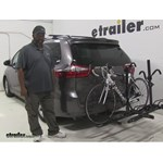 Pro Series  Hitch Bike Racks Review - 2015 Toyota Sienna