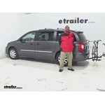 Pro Series  Hitch Bike Racks Review - 2016 Chrysler Town and Country