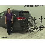 Pro Series  Hitch Bike Racks Review - 2016 Kia Sorento